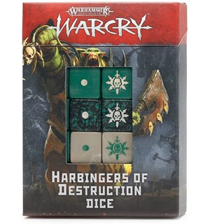 Warcry Dice Harbingers of Destruction Warhammer Age of Sigmar