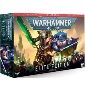 Warhammer 40K Elite Edition Startsett for Warhammer 40K