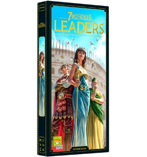 7 Wonders (2nd Ed) Leaders Exp -Engelsk Utvidelse til 7 Wonders 2nd Edition