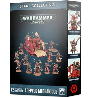 Adeptus Mechanicus Start Collecting Warhammer 40K