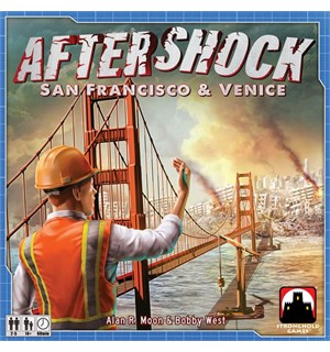 Aftershock Brettspill San Francisco & Venice