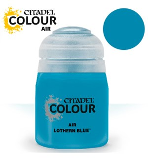 Airbrush Paint Lothern Blue 24ml Maling til Airbrush