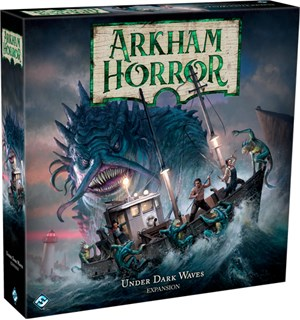 Arkham Horror Under Dark Waves Expansion Utvidelse Arkham Horror Third Edition