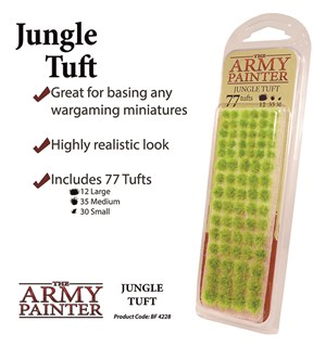 Army Painter Jungle Tuft Battlefields XP 4228