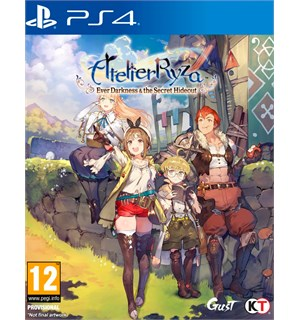 Atelier Ryza PS4 Ever Darkness & the Secret Hideout
