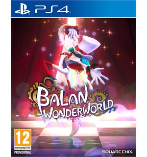 Balan Wonderworld m/ bonus PS4 Pre-order og få Opening Night Ticket