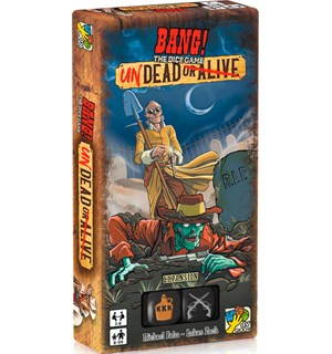 Bang Dice Game Undead Or Alive Expansion Utvidelse til Bang Dice Game