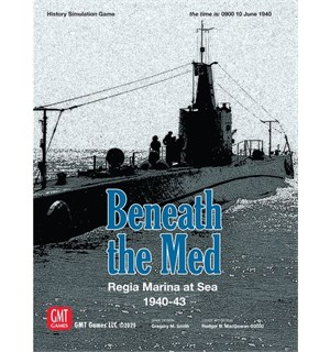 Beneath the Med Brettspill Regia Marina at the Sea 1940-43
