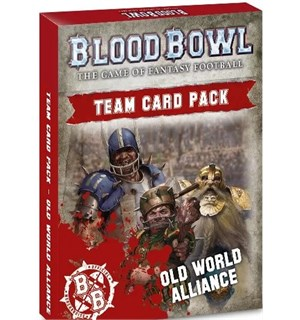 Blood Bowl Cards Old World Alliance