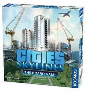 Cities Skylines Board Game Brettspill