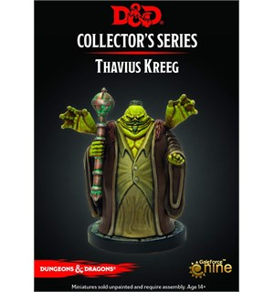 D&D Figur Coll. Series Thavius Kreeg Dungeons & Dragons Collectors Series