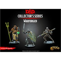 D&D Figur Coll. Series Warforged Dungeons & Dragons Collectors Series