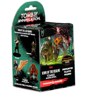 D&D Figur Icons Tomb of Annihilation x4 Dungeons & Dragons Icons of the Realms