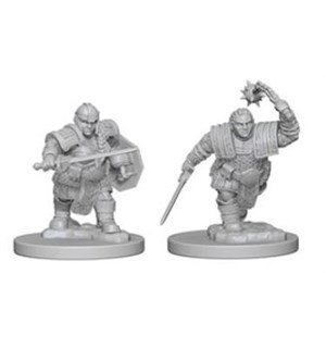 D&D Figur Nolzur Dwarf Fighter Female Nolzur's Marvelous Miniatures - Umalt