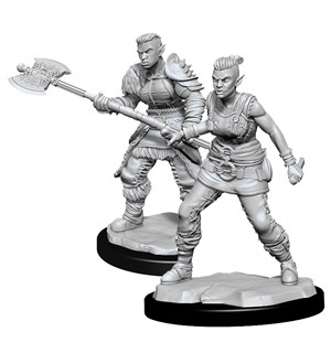 D&D Figur Nolzur Orc Barbarian Female Nolzur's Marvelous Miniatures