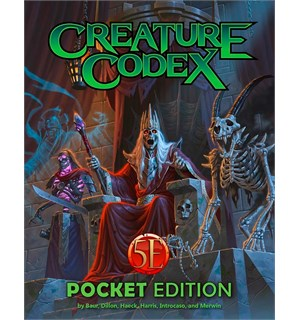 D&D Suppl. Creature Codex Pocket Edition Dungeons & Dragons Supplement