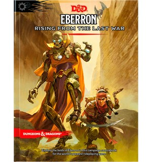 D&D Suppl. Eberron Rising Last War Dungeons & Dragons Supplement