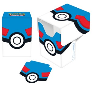 Deck Box Pokemon Great Pokeball Ultra Pro Deck Box med Divider