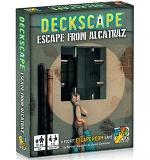 Deckscape Escape From Alcatraz Kortspill