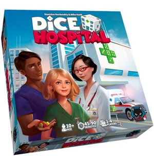 Dice Hospital Brettspill