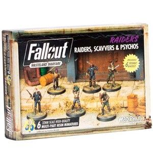 Fallout Wasteland Raiders/Scavvers/Psych Utvidelse til Fallout Wasteland Warfare