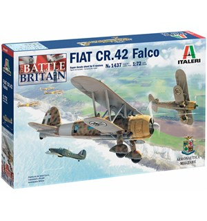Fiat CR.42 Falco 1:72 Italeri 1:72 Byggesett