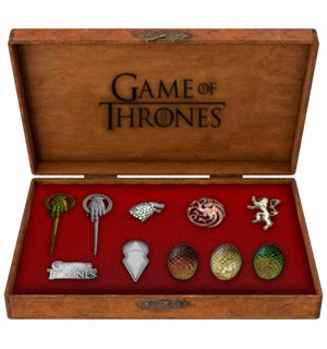Game of Thrones Deluxe Pin Set