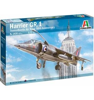 Harrier GR.1 Transatlantic Air Race Italeri 1:72 Byggesett 50th Anniversary
