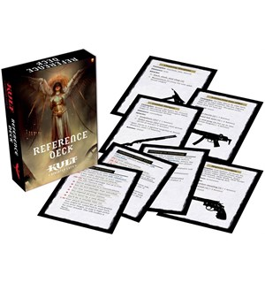 Kult RPG Reference Deck Divinity Lost - 4th Edition