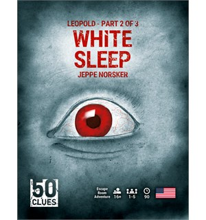 Leopold Part 2 of 3 White Sleep Jeppe 50 Clues Jeppe Norsker