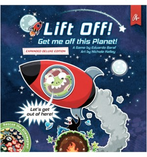 Lift Off Expanded Deluxe Ed Brettspill Get Me Off This Planet