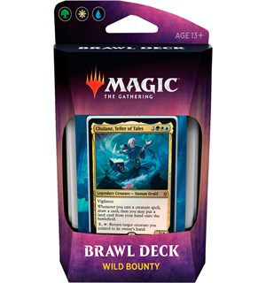 Magic Throne of Eldraine Brawl Wild Brawl Deck - Wild Bounty