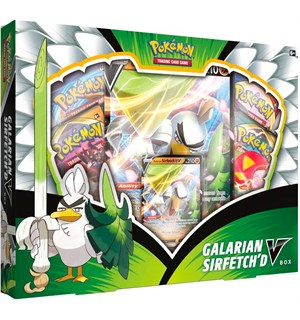 Pokemon Galarian Sirfetchd V Box