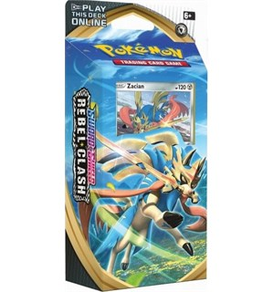 Pokemon Rebel Clash Theme Deck Zacian Sword & Shield 2