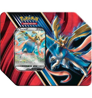 Pokemon Tin Box Zacian V Legends of Galar Summer 2020