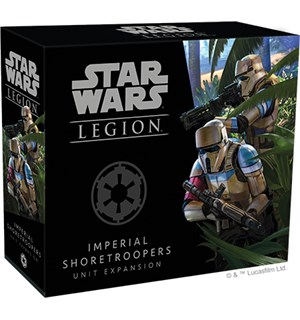 Star Wars Legion Imperial Shoretroopers Utvidelse til Star Wars Legion
