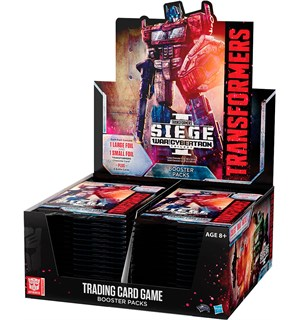 Transformers TCG Siege 1 Display Trading Card Game - 30 boosterpakker