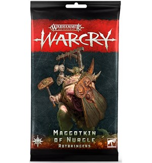 Warcry Cards Maggotkin of Nurgle Rotbrin Warhammer Age of Sigmar Rotbringers