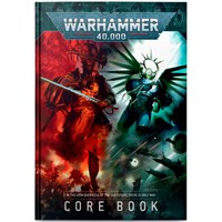 Warhammer 40K Core Rule Book (9th Ed) Regelbok - Hardback Cover