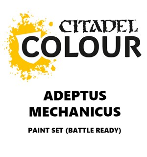 Adeptus Mechanicus Paint Set Battle Ready Paint Set for din hær
