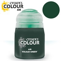 Airbrush Paint Vulkan Green 24ml Maling til Airbrush