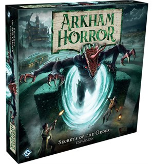 Arkham Horror Secrets of the Order Exp Utvidelse Arkham Horror Third Edition