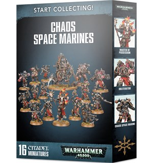 Chaos Space Marines Start Collecting Warhammer 40K