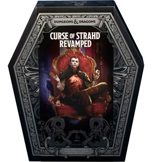 D&D Adventure Curse of Strahd Revamped Dungeons & Dragons - Spesialutgave
