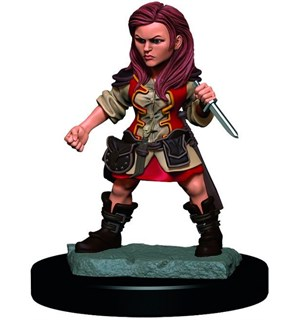 D&D Figur Icons Halfling Rogue Female Icons of the Realm Premium Figures