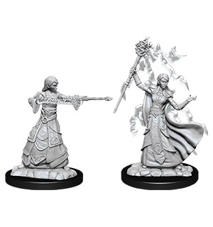 D&D Figur Nolzur Elf Wizard Female Nolzur's Marvelous Miniatures