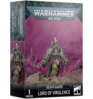 Death Guard Lord of Virulence Warhammer 40K