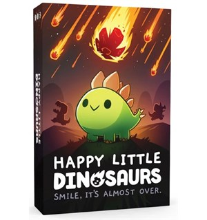 Happy Little Dinosaurs Brettspill Fra skaperne av Unstable Unicorns
