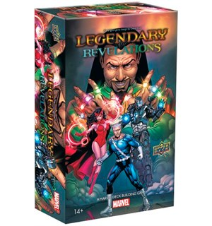 Legendary Marvel Revelations Expansion Utvidelse til Legendary Marvel