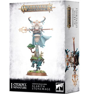 Lumineth Realm Lords Alarith Stonemage Warhammer Age of Sigmar
